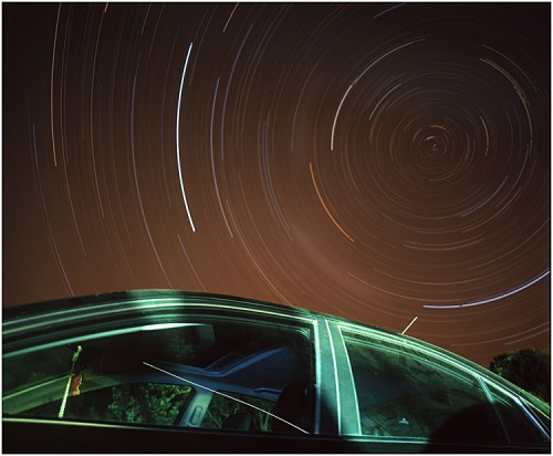 21_Star Trail Test 2 - Car