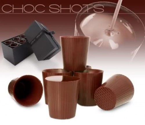 22_Chocolate Shot Glasses