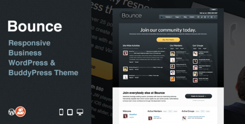 23_Bounce Responsive Business WP & BuddyPress Theme