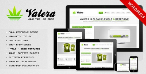 25_VALERA - Responsive WordPress Theme