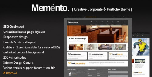 26_Meménto - A Flexible Corporate WordPress Theme