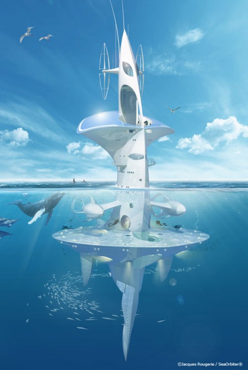 2_SeaOrbiter by Jacques Rougerie