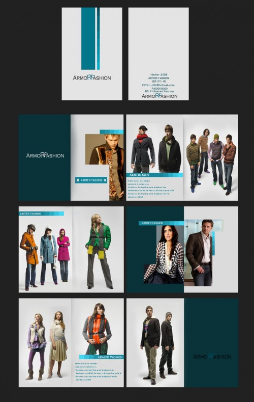30_Fashion Advertising Brochure