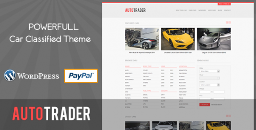 33_Autotrader - Car Classified Theme