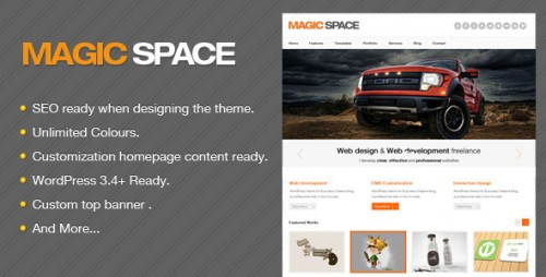 35_Magic Space - Clean Business WordPress Theme