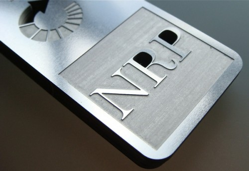 3_Stainless Steel Metal Business Card