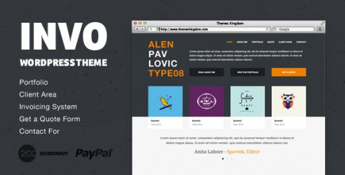 45_Invo - WP Business Theme with Invoice System