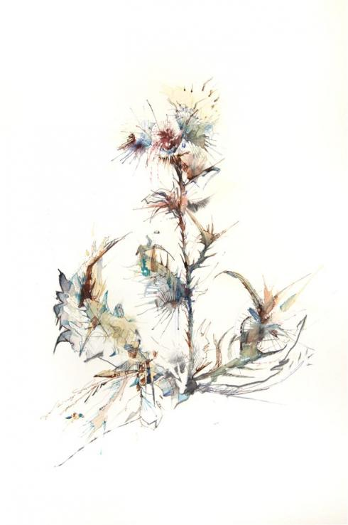 4_Drawings by Carne Griffiths
