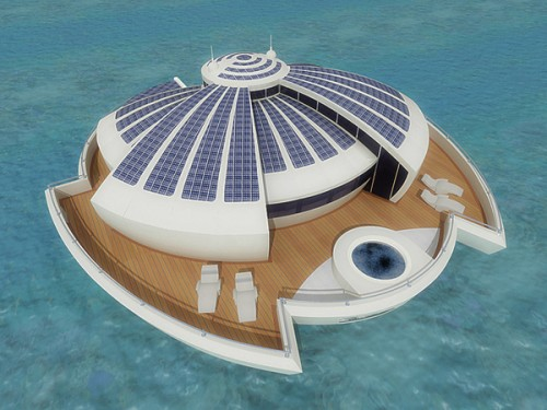 4_Solar Powered Floating Resort
