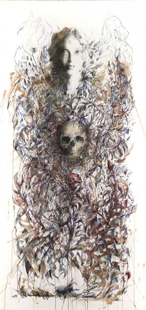 5_Drawings by Carne Griffiths