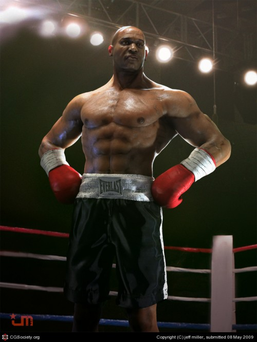 5_The Boxer Jeff Miller 3D