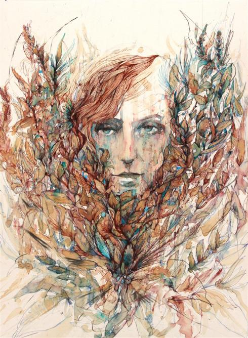 6_Drawings by Carne Griffiths