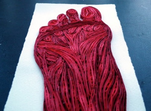 6_Quilled Paper Anatomy