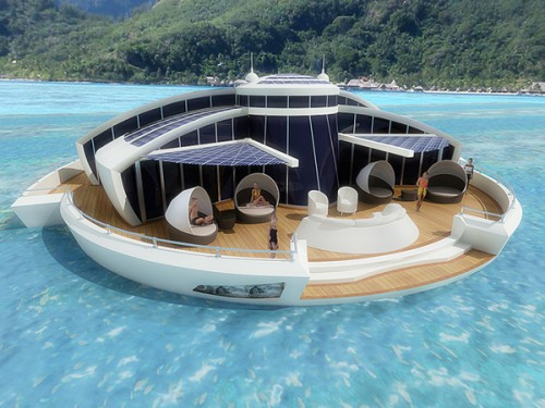 6_Solar Powered Floating Resort