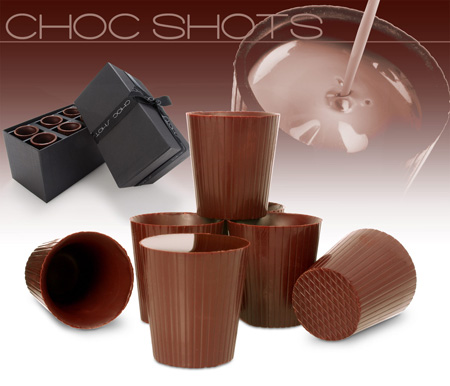 8_Chocolate Shot Glasses