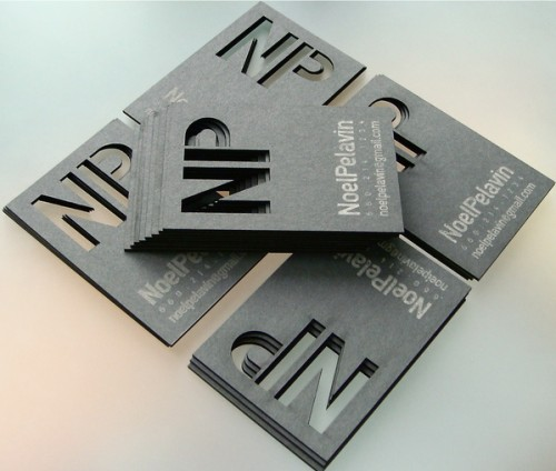 8_Laser Cut Business Card