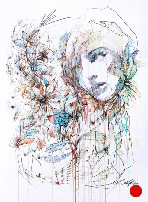 9_Drawings by Carne Griffiths