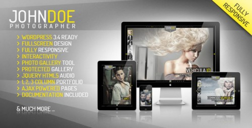 10_J.Doe Responsive Photography Wordpress Theme
