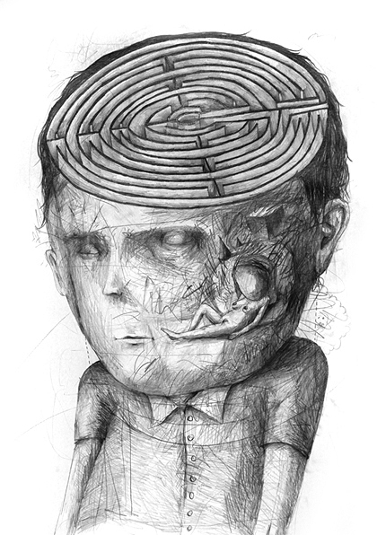 13_Drawings by Stefan Zsaitsits