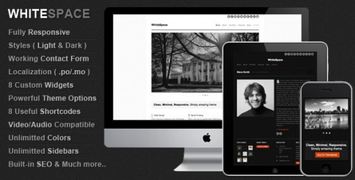 14_WhiteSpace Responsive & Minimal Wordpress Theme