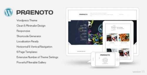 15_Praenoto - Clean & Minimalist WordPress Theme