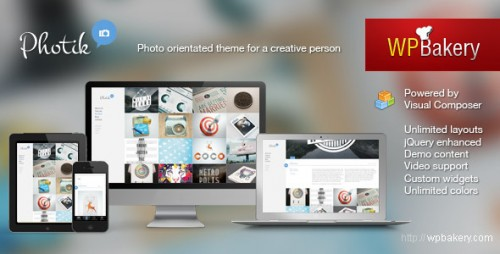 20_Photik – Responsive Portfolio & Blog WordPress Theme