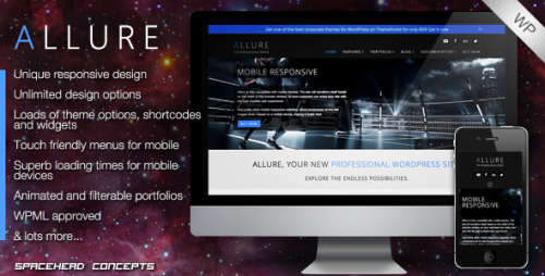 24_Allure - Professional Responsive WordPress Theme