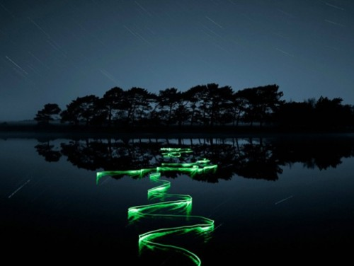 2_Light Trail Photographs by Joel James Devlin