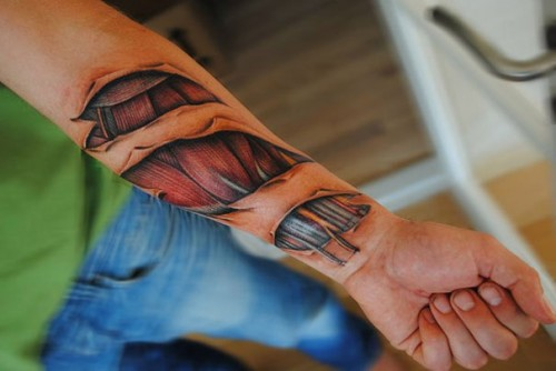 2_Realistic Tattoos by Yomico Moreno