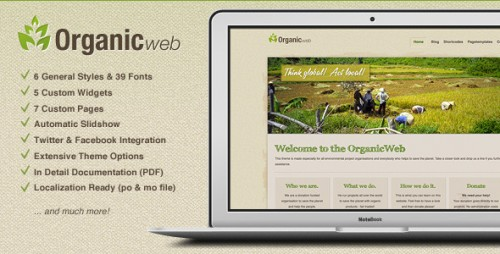 34_Organic Web - Environmental WordPress Theme