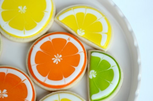 3_Citrus Decorated Cookies by Sweetopia