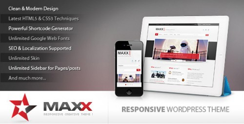41_Maxx - Responsive Creative Wordpress Theme