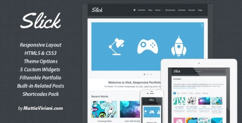 44_Slick Responsive Portfolio WordPress Theme