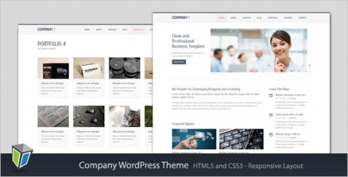 46_Company - Responsive Corporate WordPress Theme