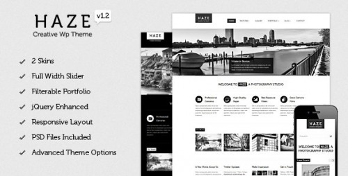 47_Haze - Beautiful WordPress Theme