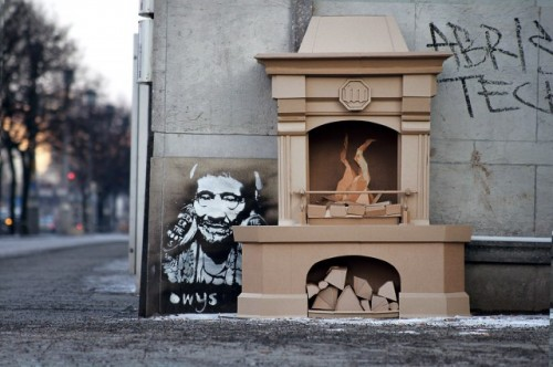 4_Cardboard Sculptures by Bartek Elsner