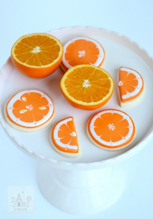4_Citrus Decorated Cookies by Sweetopia