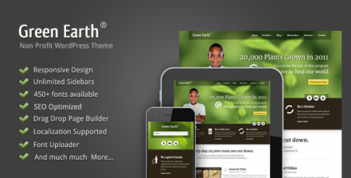 50_Green Earth - Environmental WordPress Theme