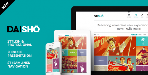 5_Daisho - Flexible WordPress Portfolio Theme
