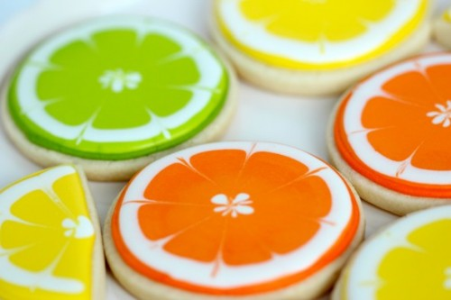 6_Citrus Decorated Cookies by Sweetopia