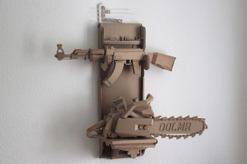 7_Cardboard Sculptures by Bartek Elsner