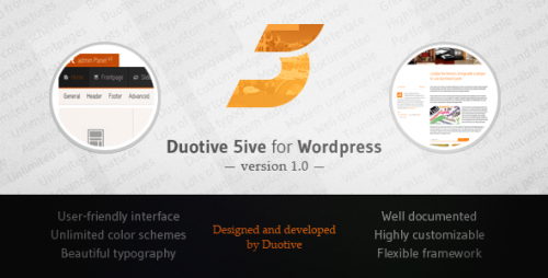 9_Duotive 5ive for WordPress