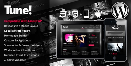 10_Tune Responsive Creative Business WordPress Theme