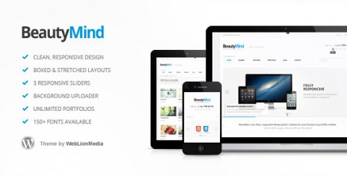 11_BeautyMind - Responsive and Clean WordPress Theme