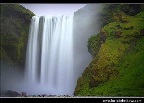 12_Iceland – Ghosts at Skogafoss Waterfall