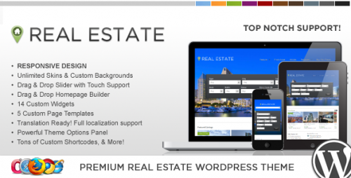 12_WP Pro Real Estate 4 Responsive WordPress Theme