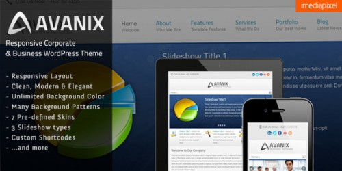 13_Avanix - Responsive Business WordPress Theme