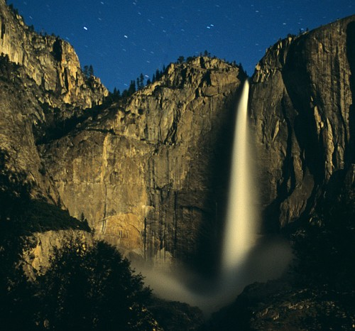 15_Yosemite Falls by Moonlight