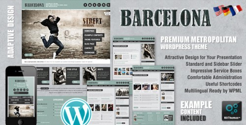 16_Barcelona - Customizable Universal Wordpress Theme