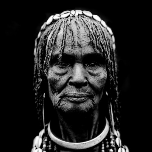 18_Old Hamar Woman Ethiopia